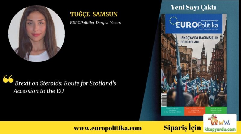 Brexit on Steroids: Route for Scotland's Accession to the EU